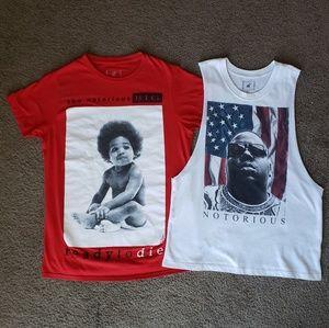 Notorius BIG Shirt Bundle